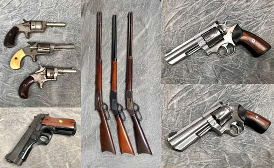 Firearms, Sporting Related & Militaria