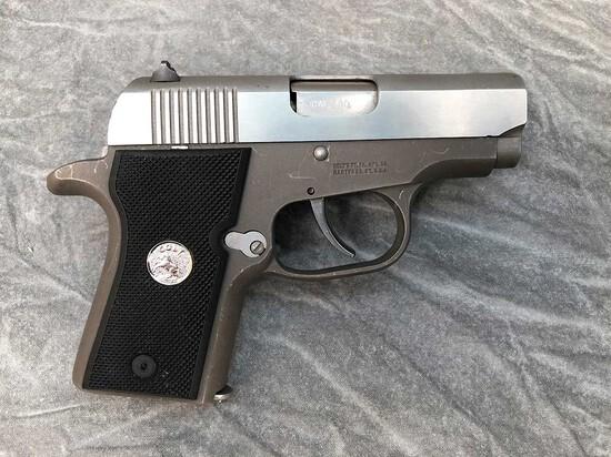 Colt Pony Pocketlite Semiautomatic Pistol