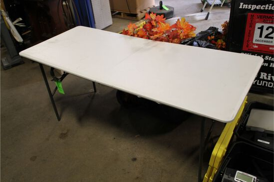 Life Time 6' Poly Folding Table