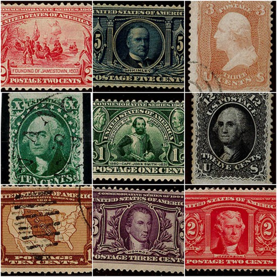 Stamps, Coins & Currency