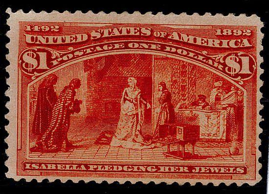 1893 $1 Columbian Commemorative (#241)