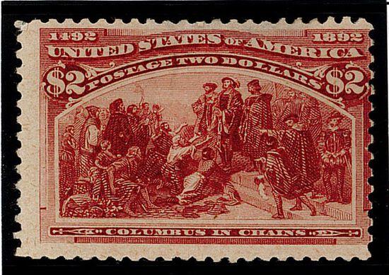 1893 $2 Columbian Commemorative (#242)