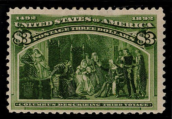 1893 $3 Columbian Commemorative (#243)