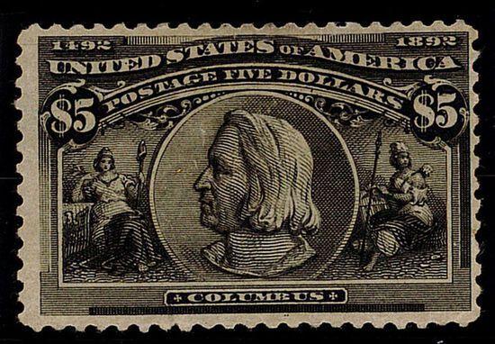 1893 $5 Columbian (#245)