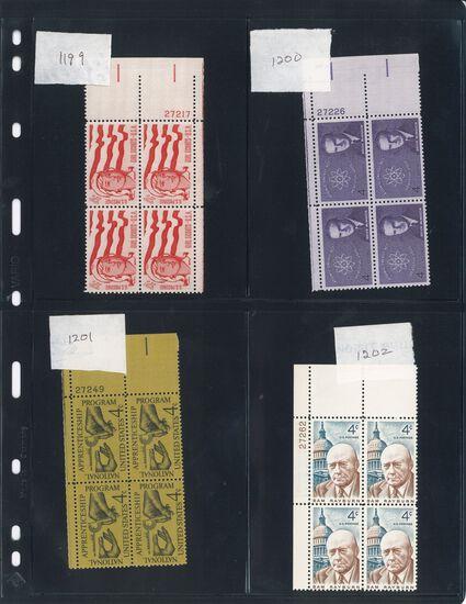 Assortment of USA Stamps (Scott # range 1199-1596)
