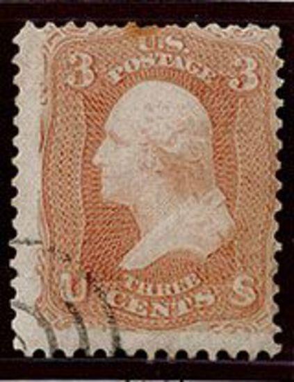 1861 3c Washington Pink (#64)