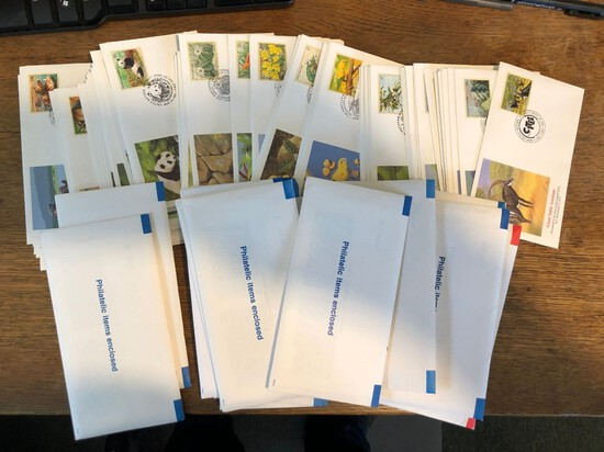 Collection of UN Animals First Day Issue Envelopes