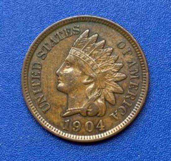 1904 Indian Head 1c