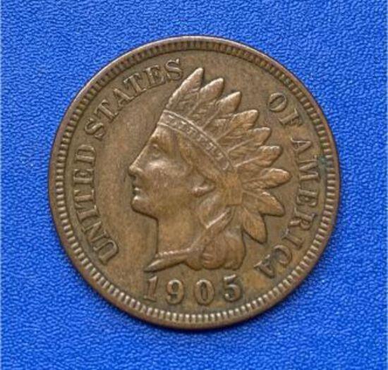 1905 Indian Head 1c