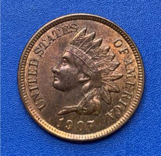 1907 Indian Head 1c
