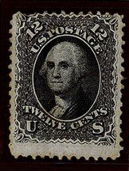 1861-62 12c Washington Black
