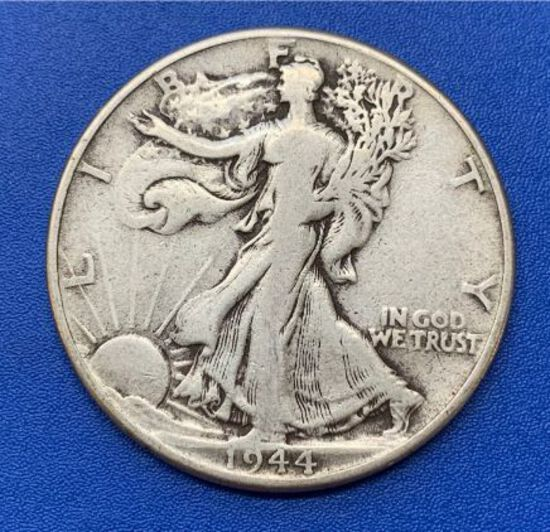 1944 Liberty Walking Half Dollar