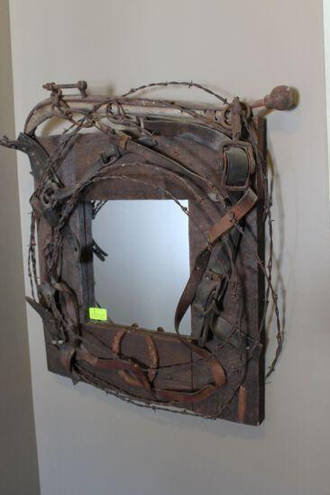 Farm Motif Mirror