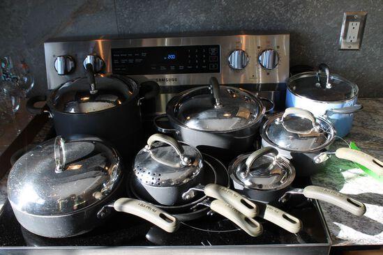 (8) Circulon Cookware