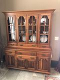 Taylor Jamestown Solid Cherry China Cabinet