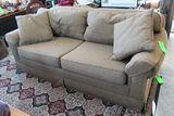 Upholstered Love Seat Sofa