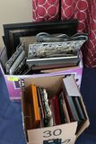 (30+/-) Assorted Picture Frames
