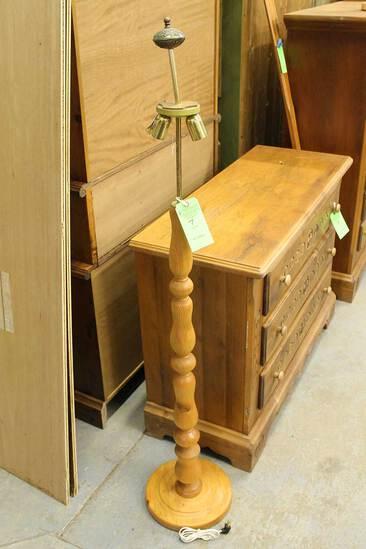 Pine Floor Lamp