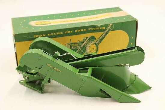 Vintage John Deere Toy Corn Picker