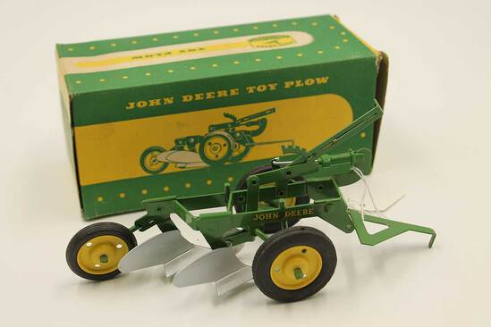 Vintage John Deere Toy Plow
