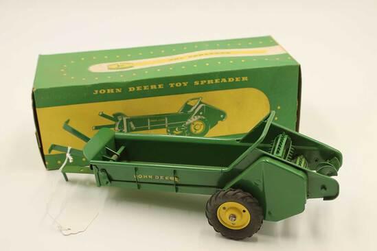 Vintage John Deere Toy Spreader