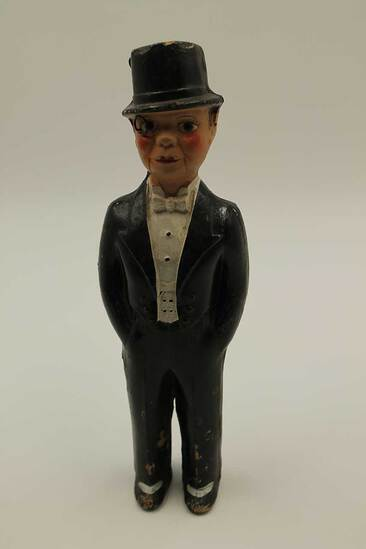 Vintage Charlie McCarthy Composition Doll