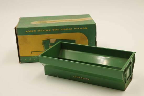 Vintage John Deere Toy Farm Wagon