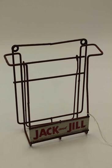 Vintage Jack & Jill Store Rack