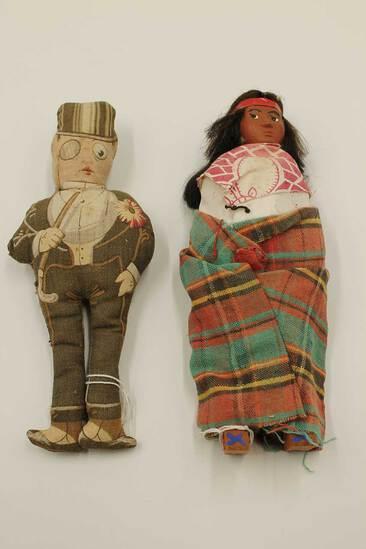 (2) Vintage Stuffed Dolls