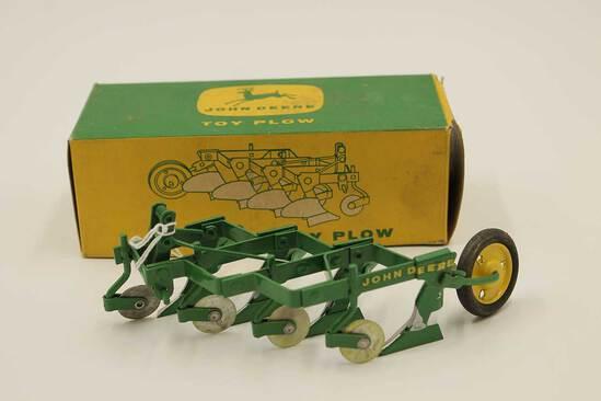 Vintage John Deere Toy 4 Bottom Plow