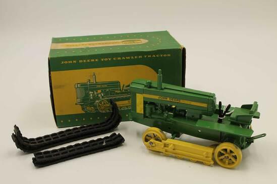 Vintage John Deere Toy Crawler Tractor