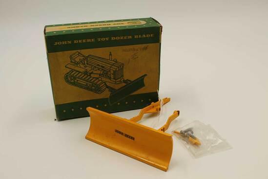 Vintage John Deere Toy Dozer Blade