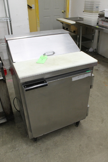 "Beverage Air 27"" Refirgerated Prep Unit"
