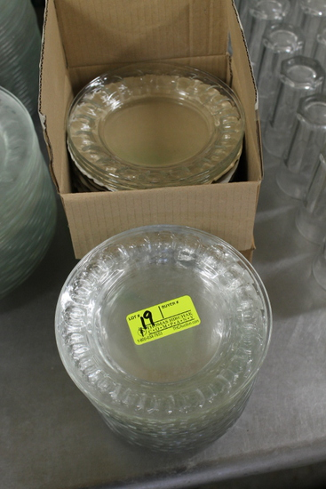 "(49) 6"" Glass Plates"