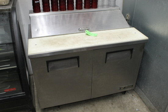 "True 48"" Refrigerated Prep Unit"