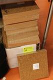 180sq.ft. of Cork Tiles