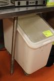 Cambro Mobile Dry Storage Bin