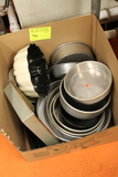 Assortment of Round Baking Pans