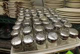 (49) Glass Salt & Pepper Shakers