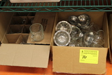 Assorted Glass & Porcelain Dishes