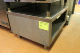 Aluminum Equipment Stand w/ Stainless Top