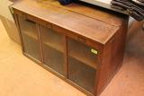 Wood/glass Countertop Display Cabinet