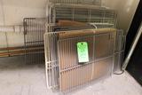 (25+/-) Assorted Wire Refrigeration Shelves