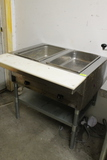 Eagle Two-Bay Hot Food Table