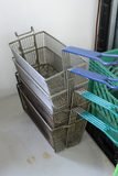 (4) 40lb. Fryer Baskets