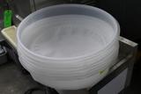 (6) Poly Flour Sieves