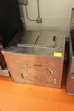 Insulated Stainless Steel Dipping Cabinet