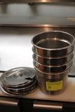 (4) Stainless Steel Bain Marie