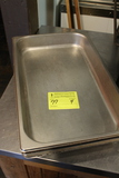 (4) Stainless Steel Full Pan Insets