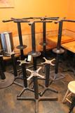(15) Steel Single Pedestal Table Bases